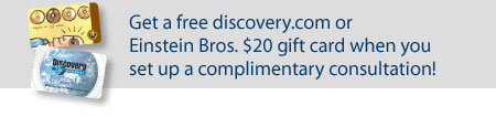 Free Einstein Brothers or discovery.com gift card